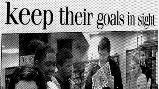 "Kaplan to High Schoolers – ""Keep Your Goals in Sight"""