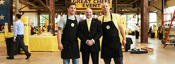 Vetri Foundation, Alex's Lemonade Stand and The Great Chefs Event